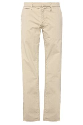 Slim-fit chinos in stretch cotton blend: 'Schino-Slim3-W', Beige