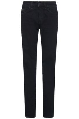 Jeans Slim Fit en coton stretch: «C-DELAWARE1», Bleu vif