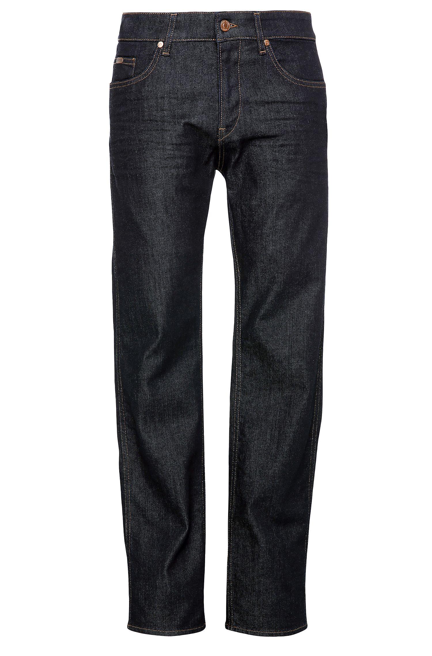Slim-fit jeans van gestructureerde stretchkatoen: 'C-DELAWARE1'