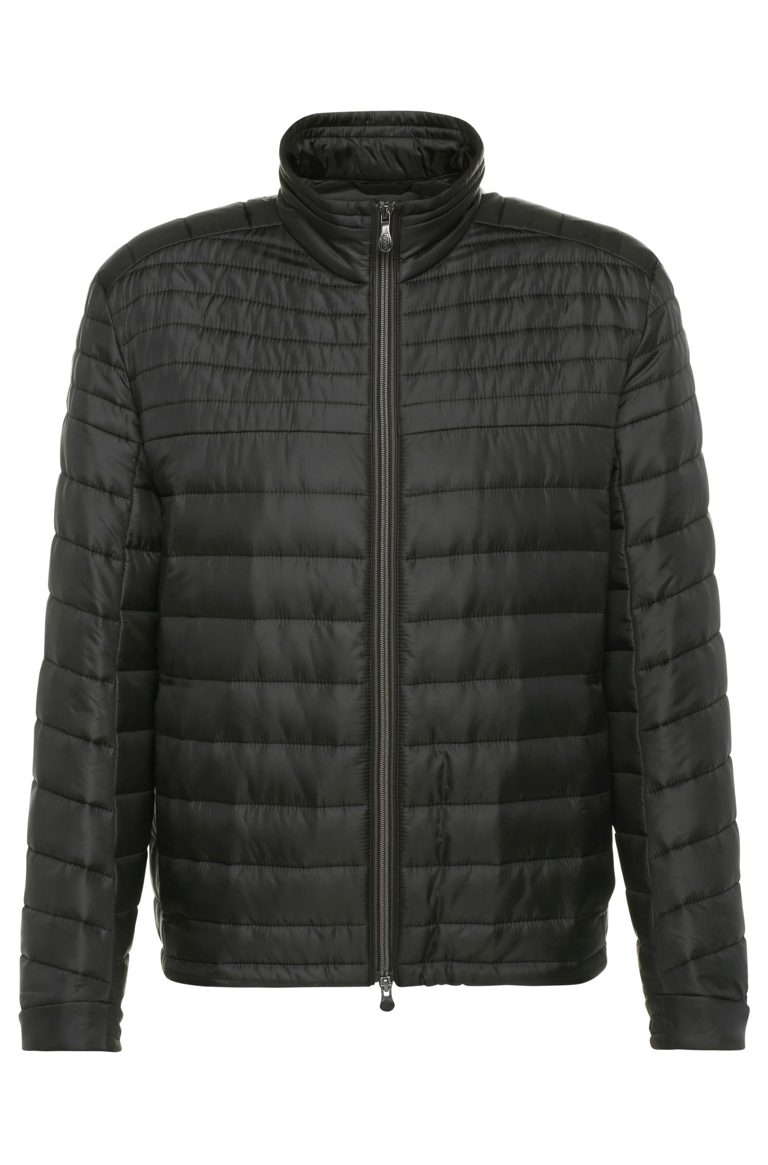 Regular-fit quilted jacket in a fabric blend: 'Jeon 1'