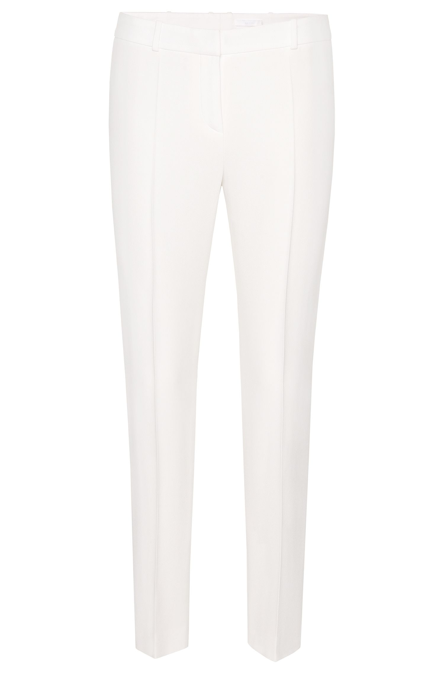 Slim-fit trousers in cropped length: 'Tiluna1'
