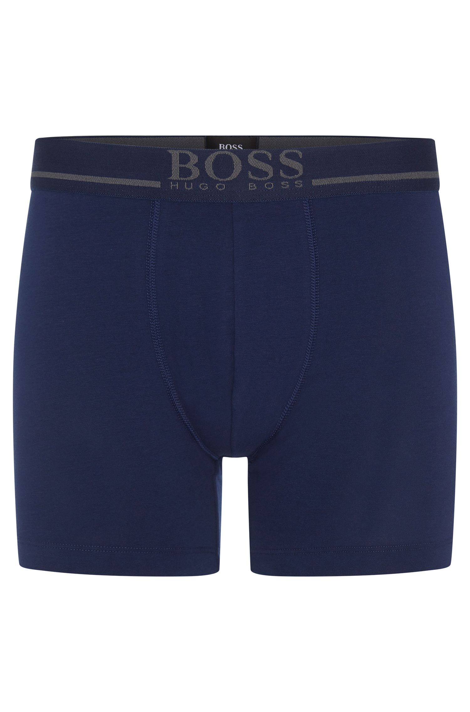 Boxer shorts in stretch single jersey