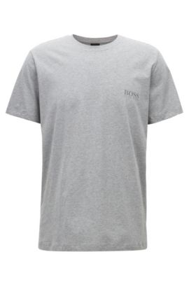 T-shirt Relaxed Fit en coton doux, Gris