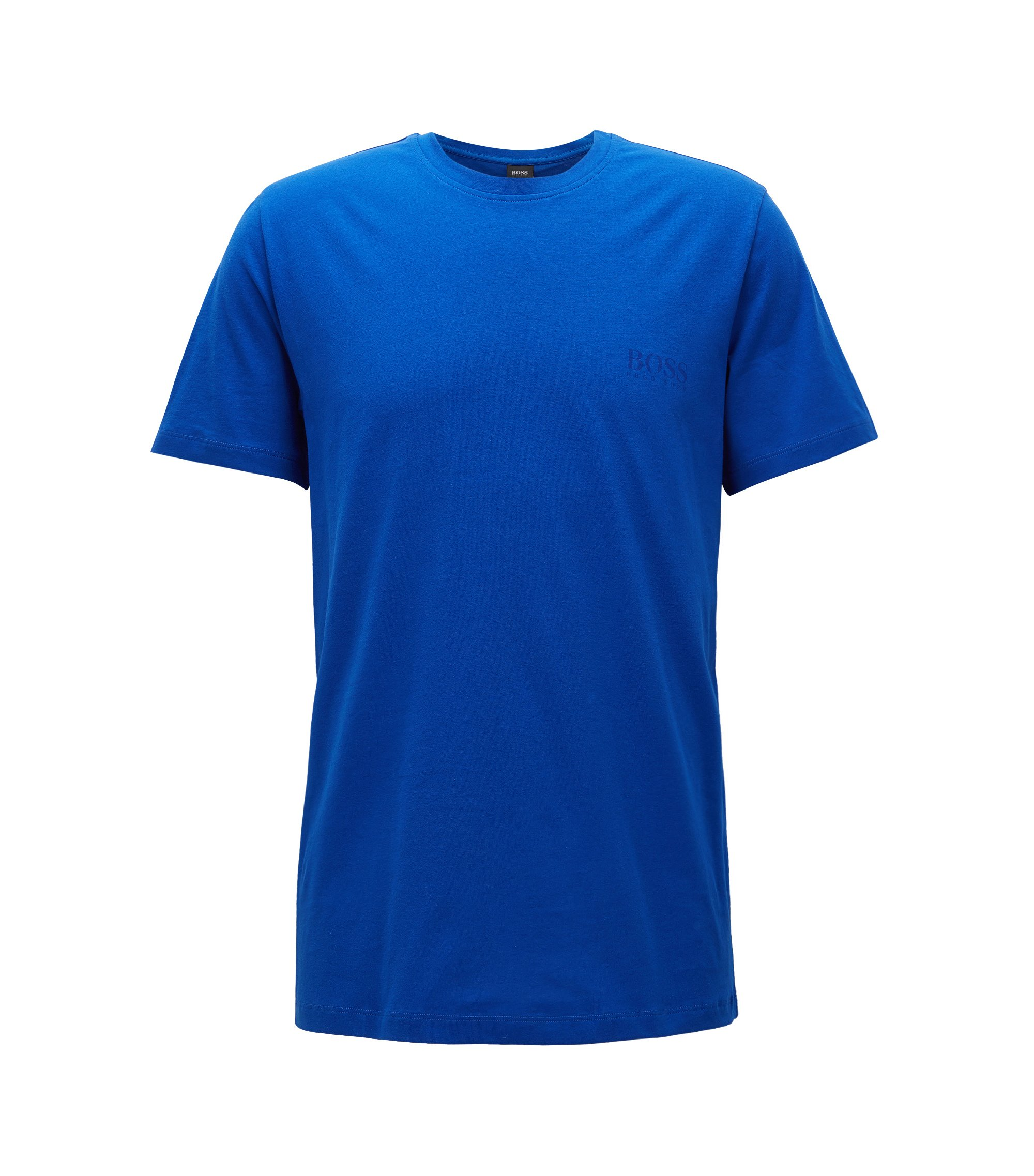 Relaxed-fit T-shirt in soft cotton, Blue