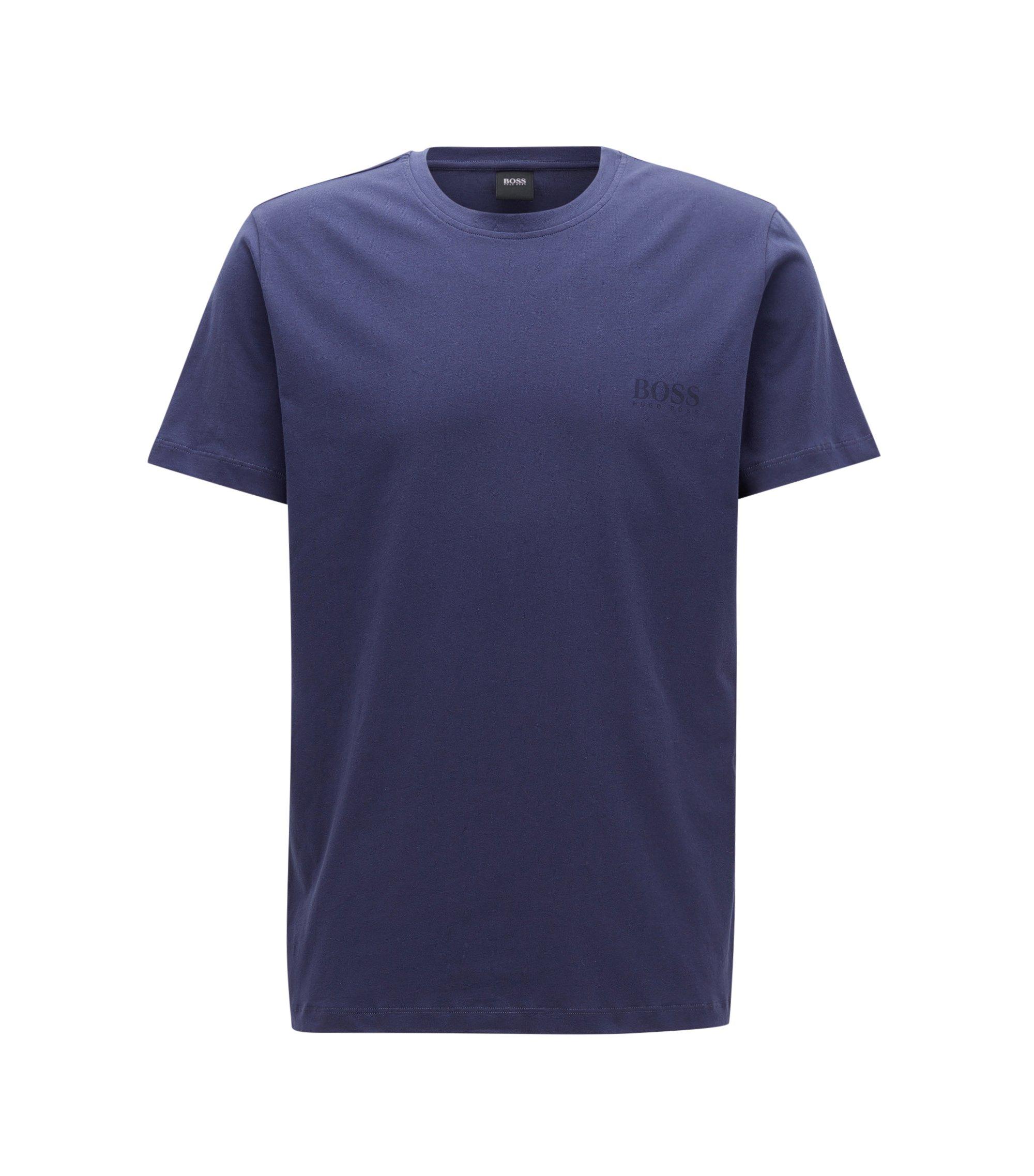 T-shirt Relaxed Fit en coton doux, Violet foncé