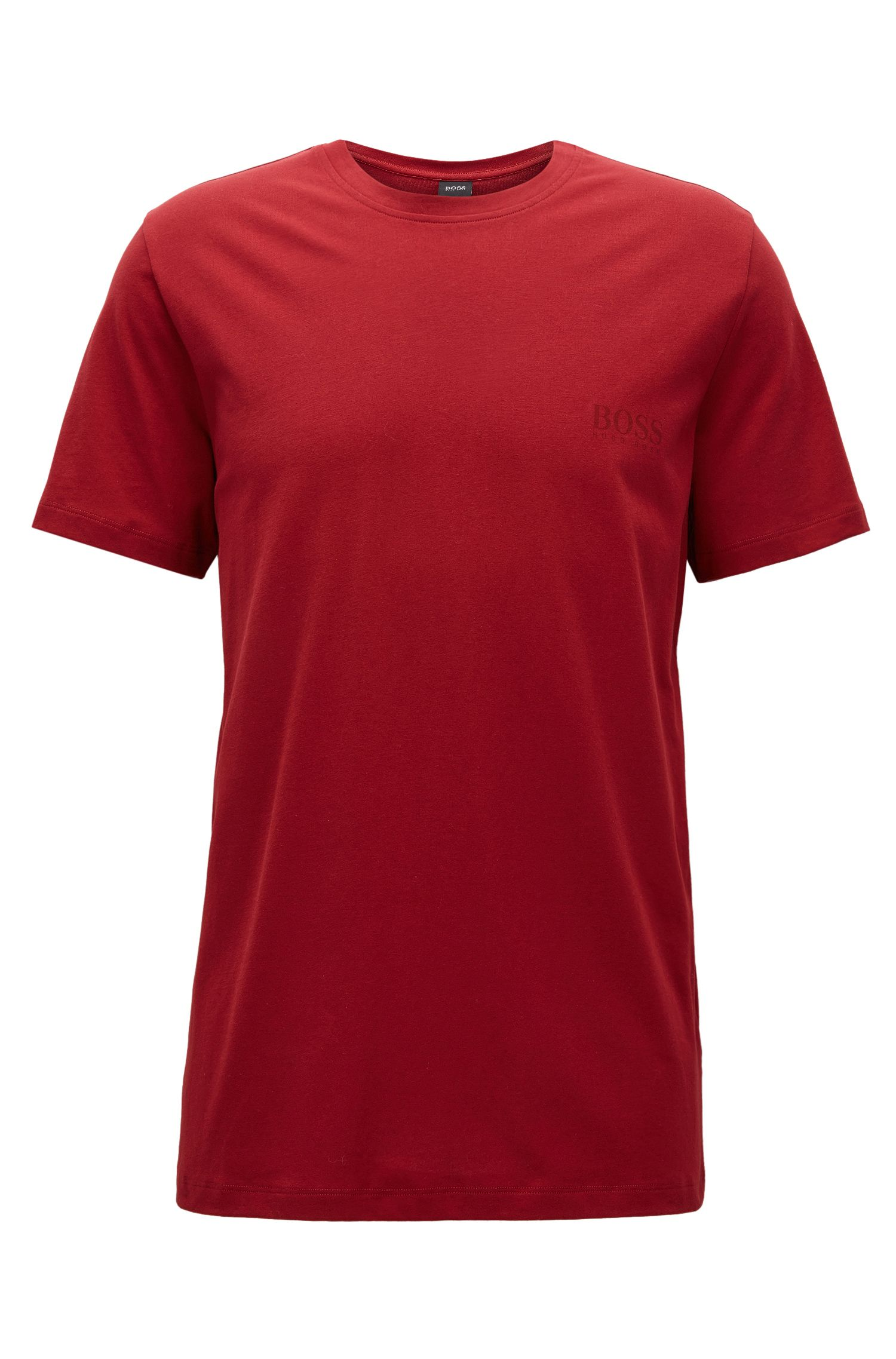 Camiseta relaxed fit en algodón suave