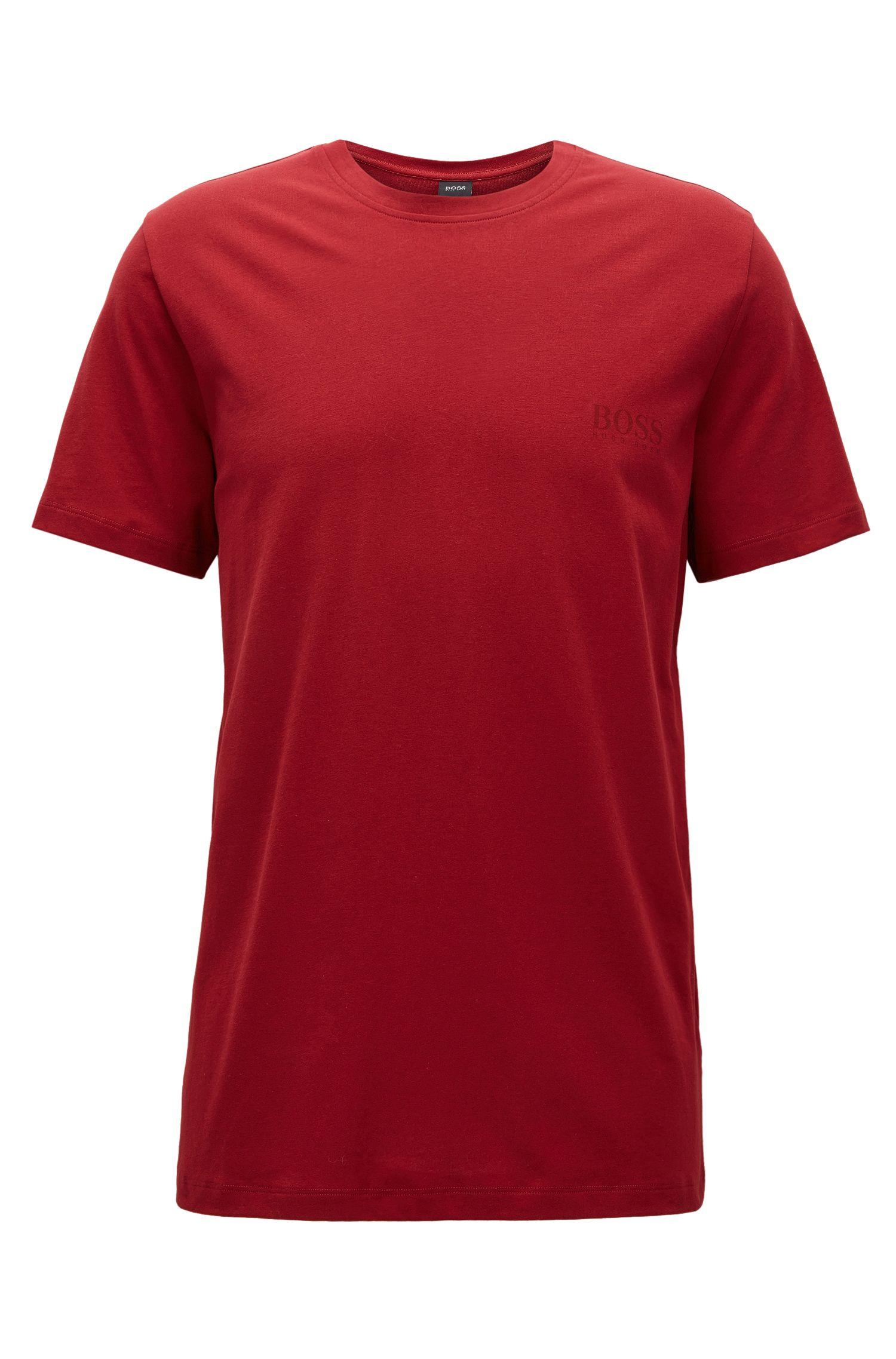 Camiseta relaxed fit en algodón suave