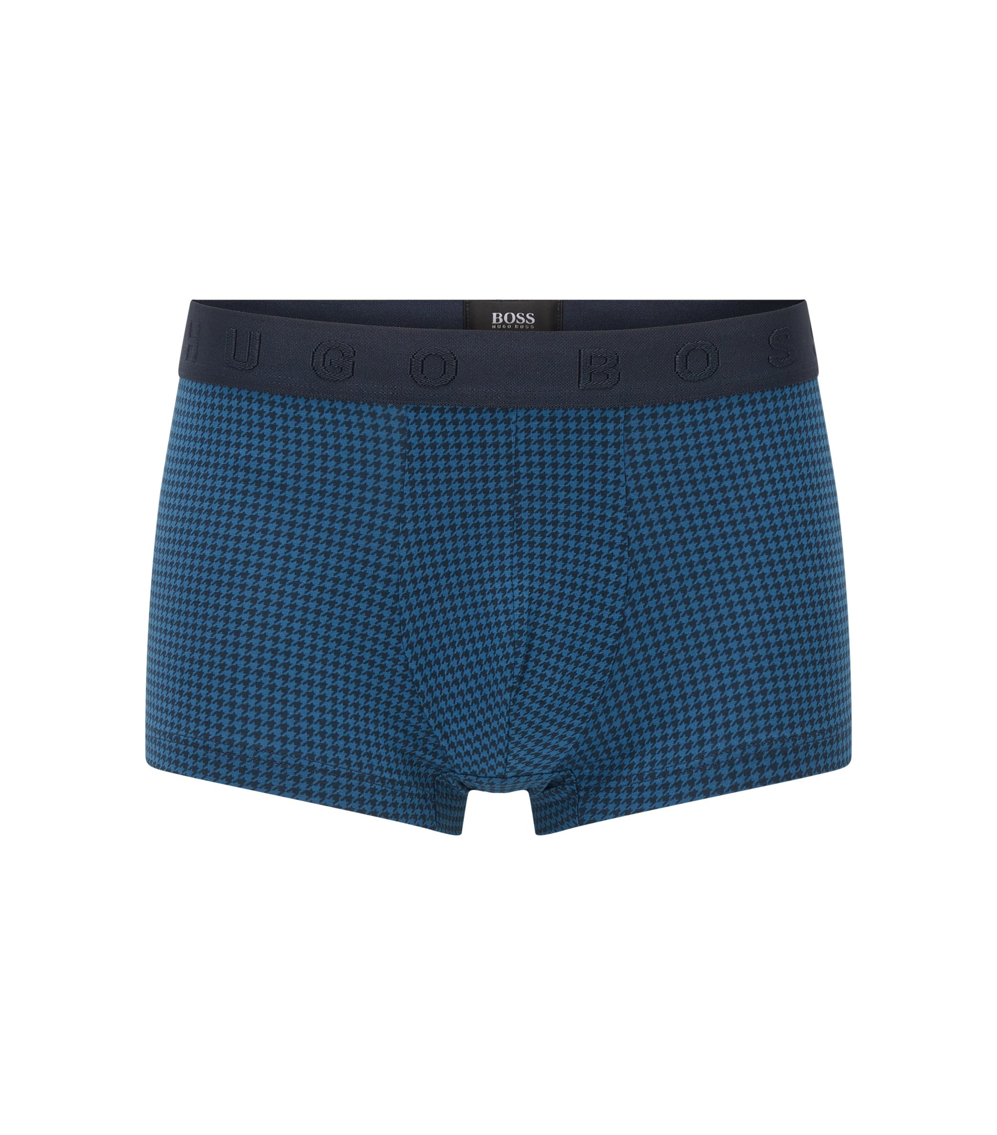 Calzoncillos estilizadores en tejido de punto sencillo, Azul oscuro