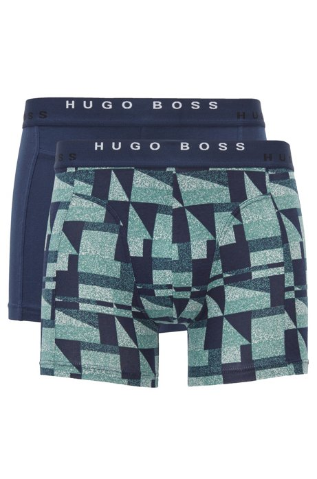 Two-pack of boxer shorts in cotton BOSS Clearance Release Dates 5SwgLS