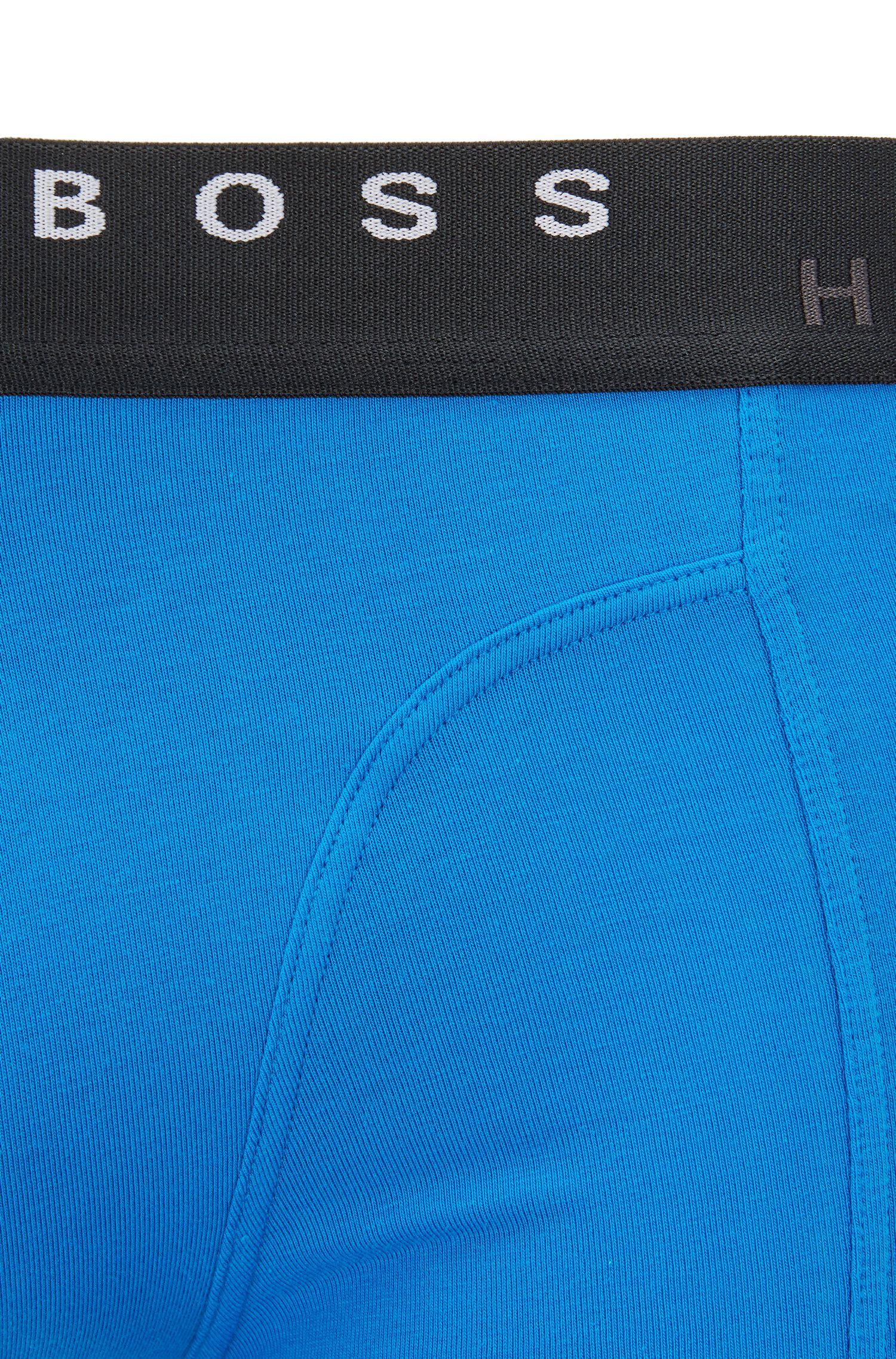 Set van twee boxershorts van katoen, Blauw