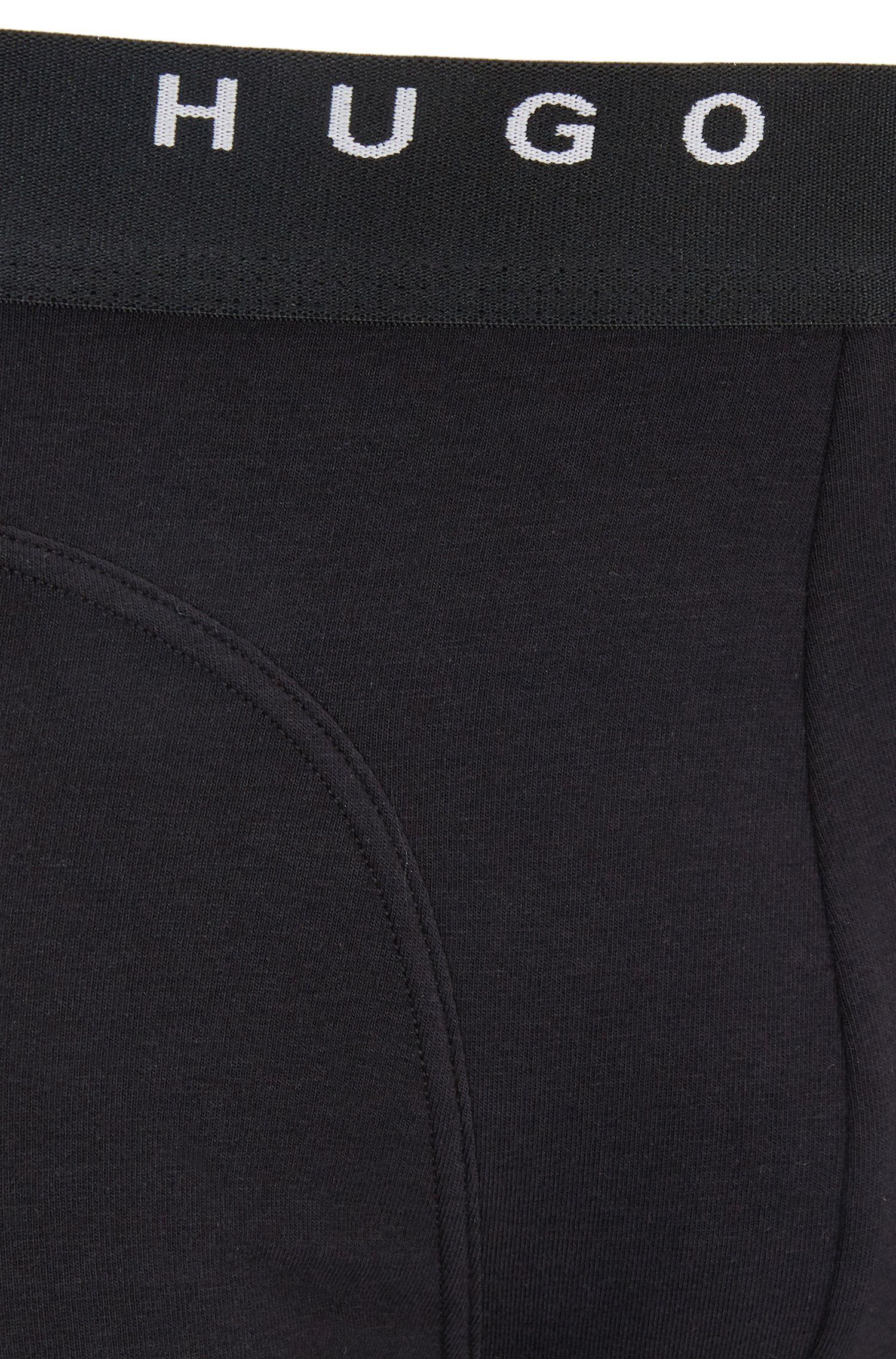 Boxershorts aus elastischer Baumwolle im Zweier-Pack