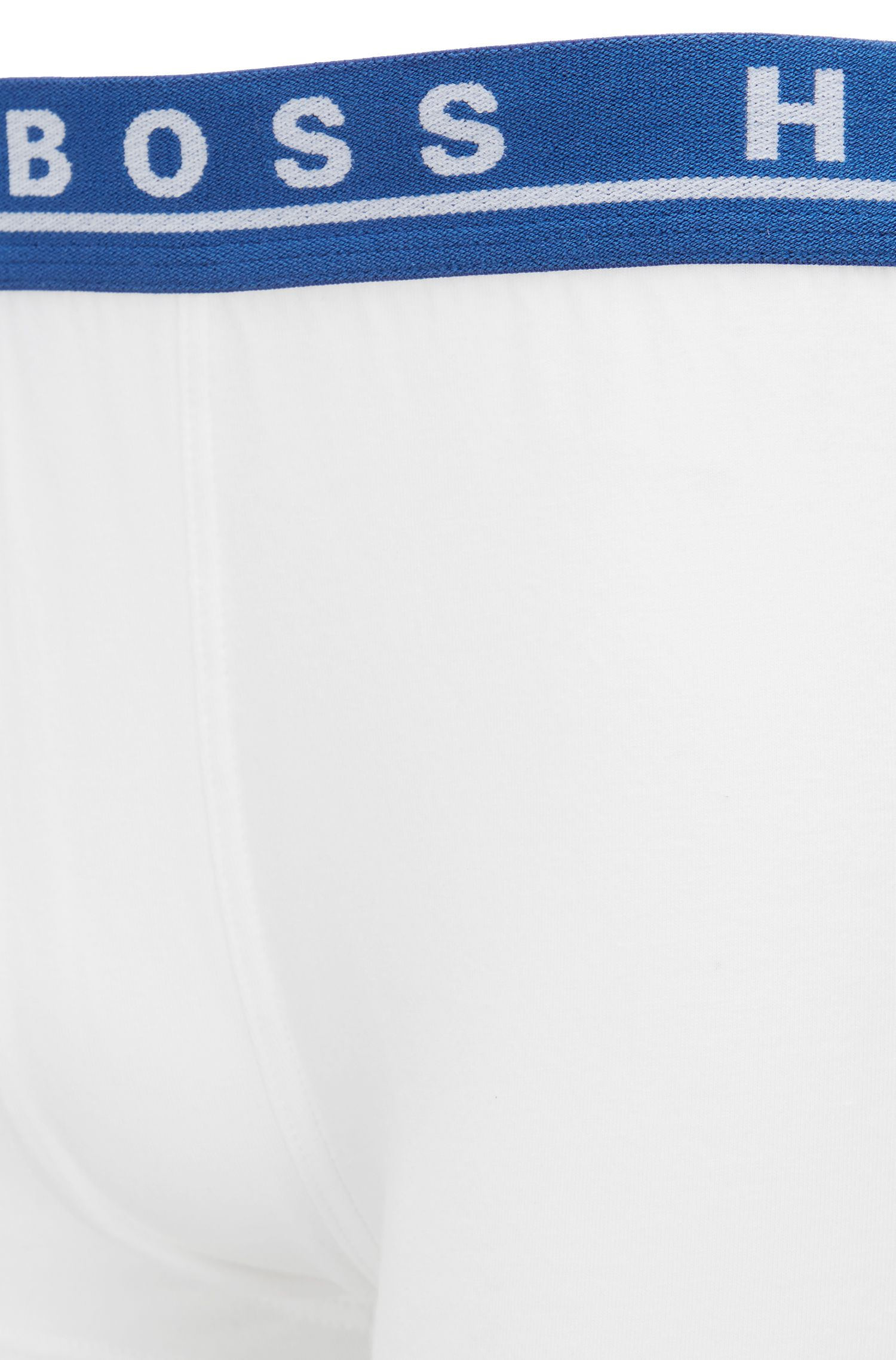 Three-pack of stretch trunks in cotton