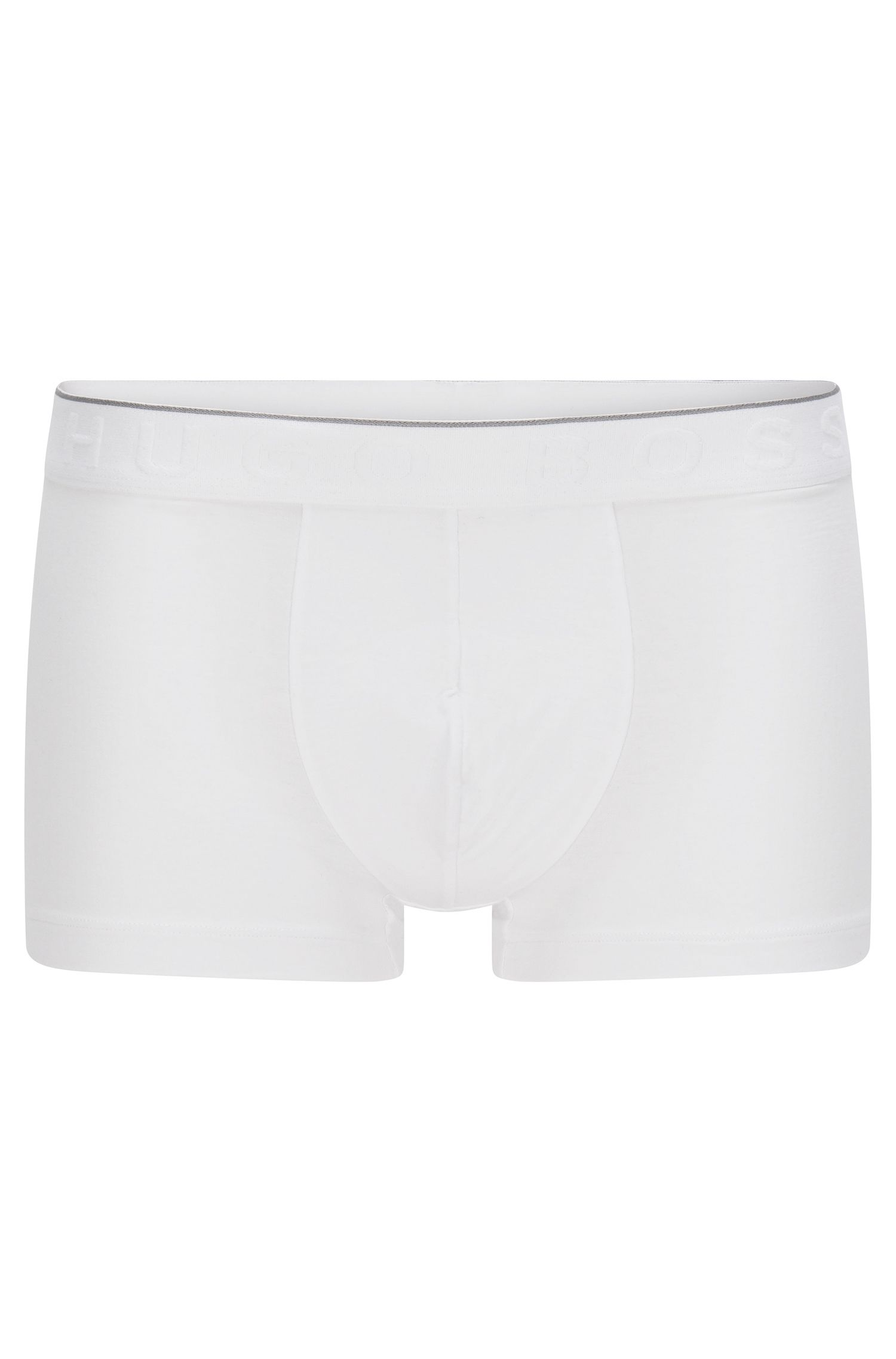 Travel Line boxer shorts in stretch modal blend with lyocell: 'Trunk Seacell'