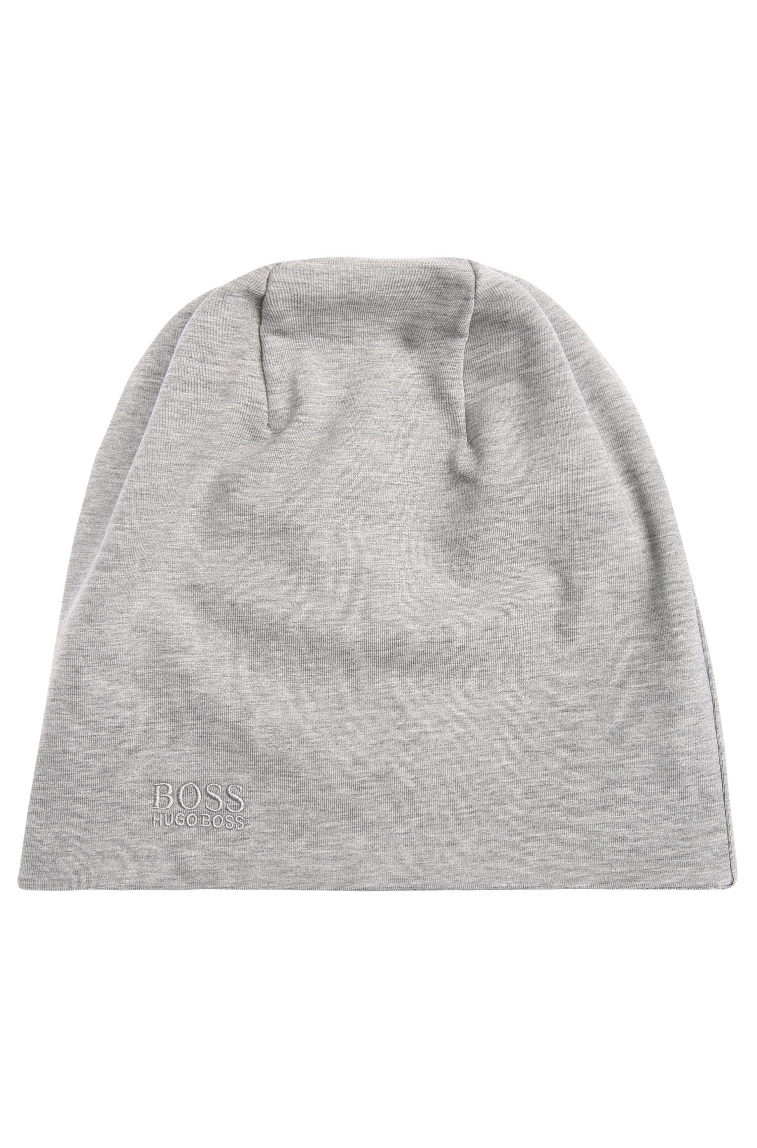 Bonnet réversible en coton stretch: «Beanie-jersey»