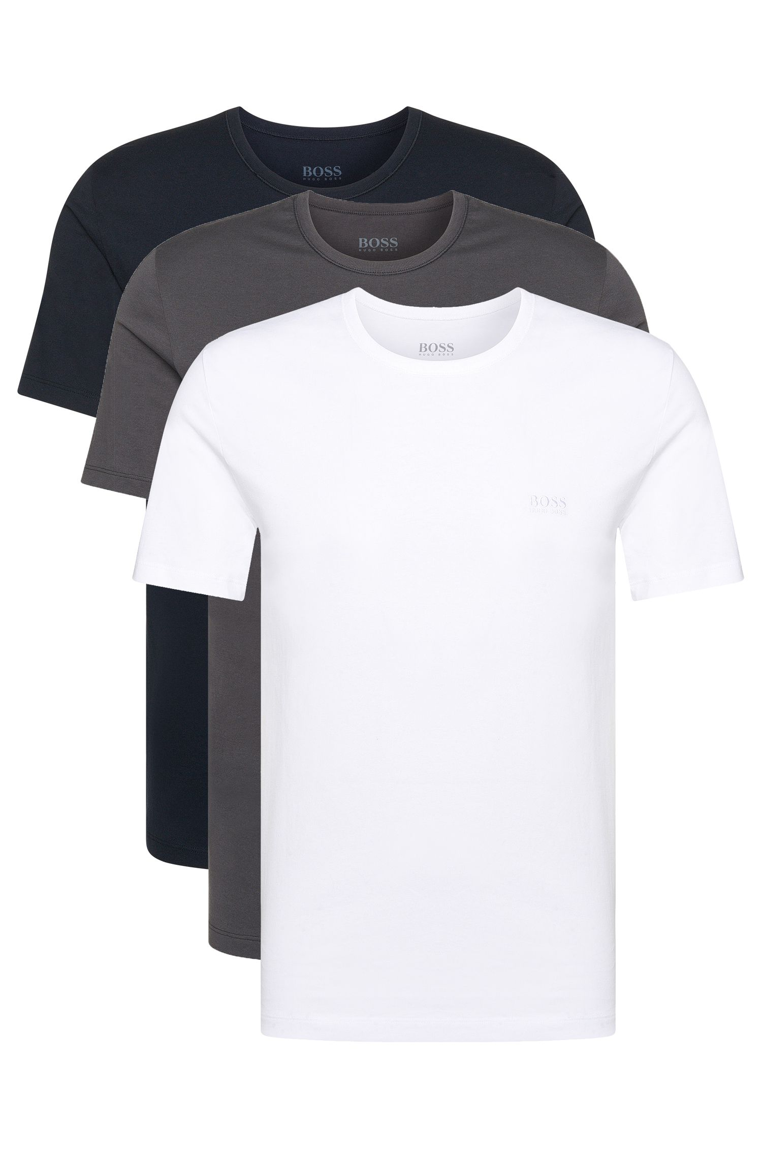 Three-pack of regular-fit cotton T-shirts