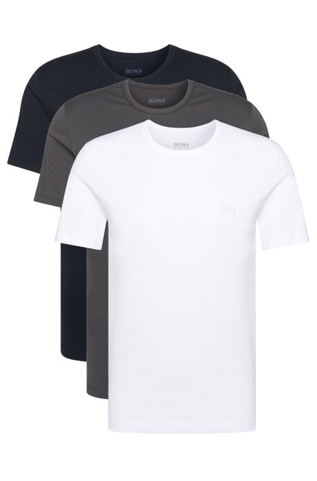 1bf97c50 Three-pack of regular-fit cotton T-shirts, White