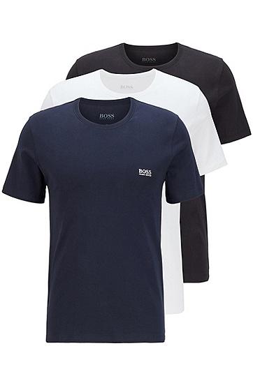 常规版纯棉 T 恤三件装,  984_Open Miscellaneous