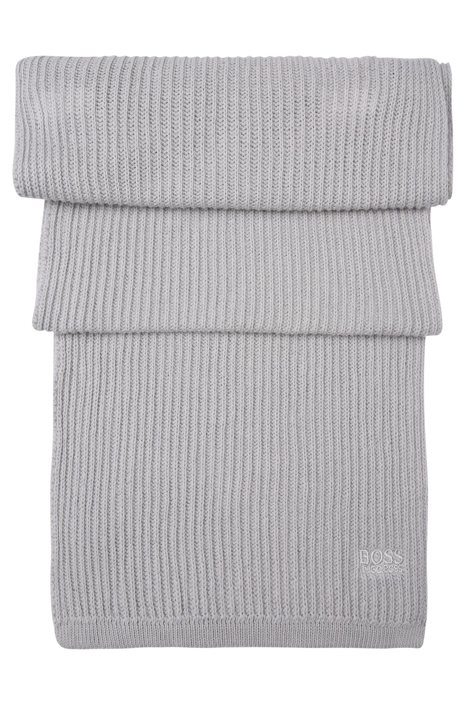 Ensemble bonnet et écharpe en pur coton: «Gift-Set»