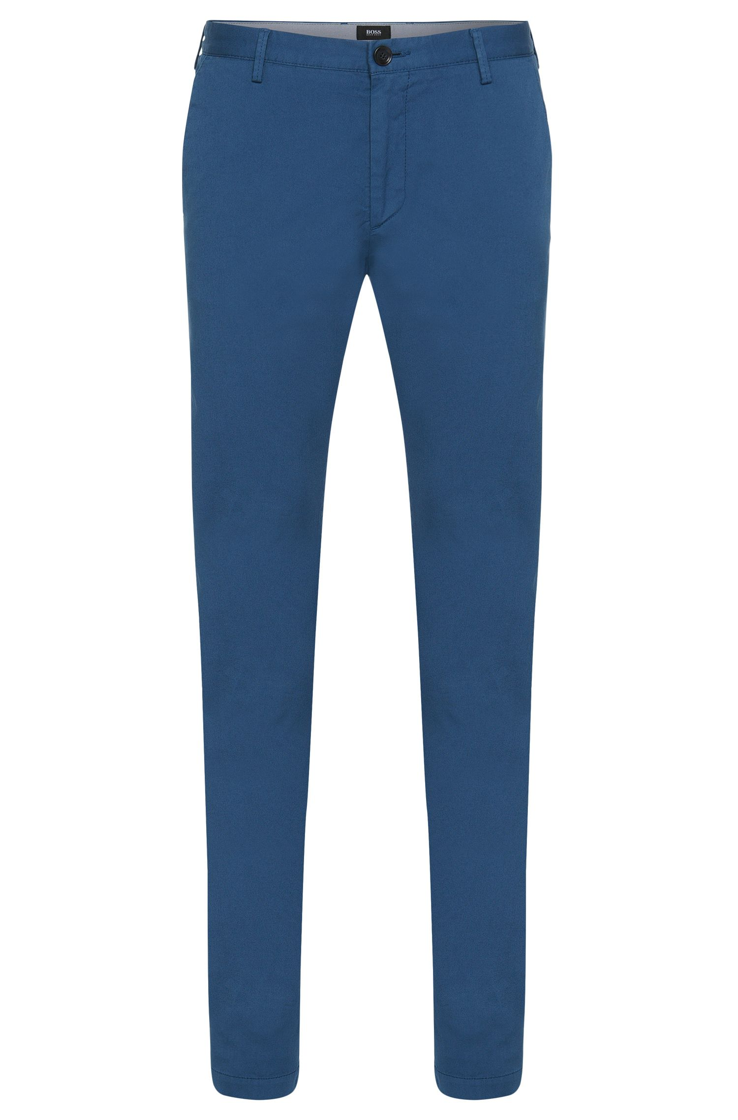 Chino BOSS Homme Slim Fit en gabardine de coton stretch