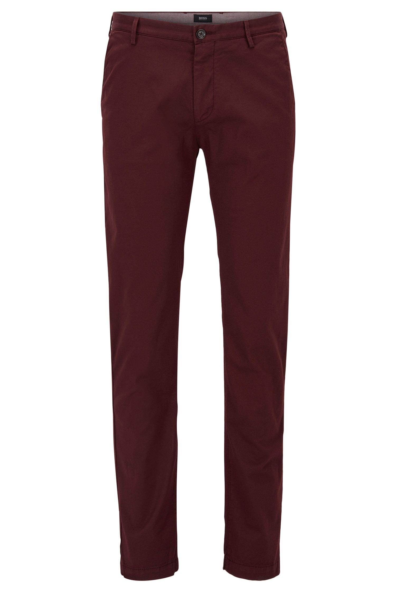 Chino Slim Fit en sergé stretch