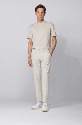 Pantalones Para Hombre Blanco Hugo Boss