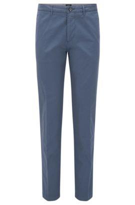 Regular-Fit Chino aus Stretch-Baumwolle, Hellblau