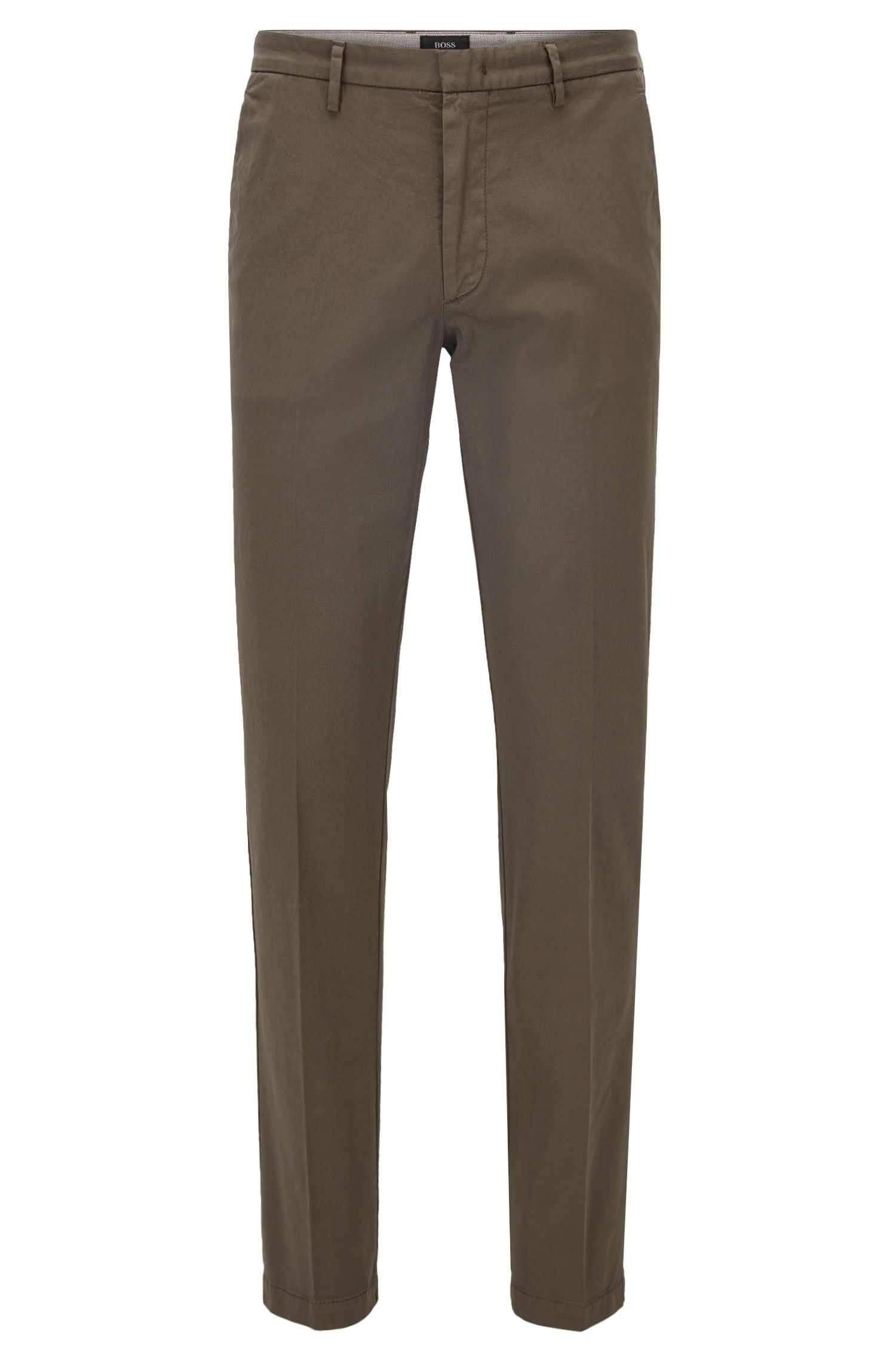 Slim-Fit Chino aus Stretch-Baumwolle