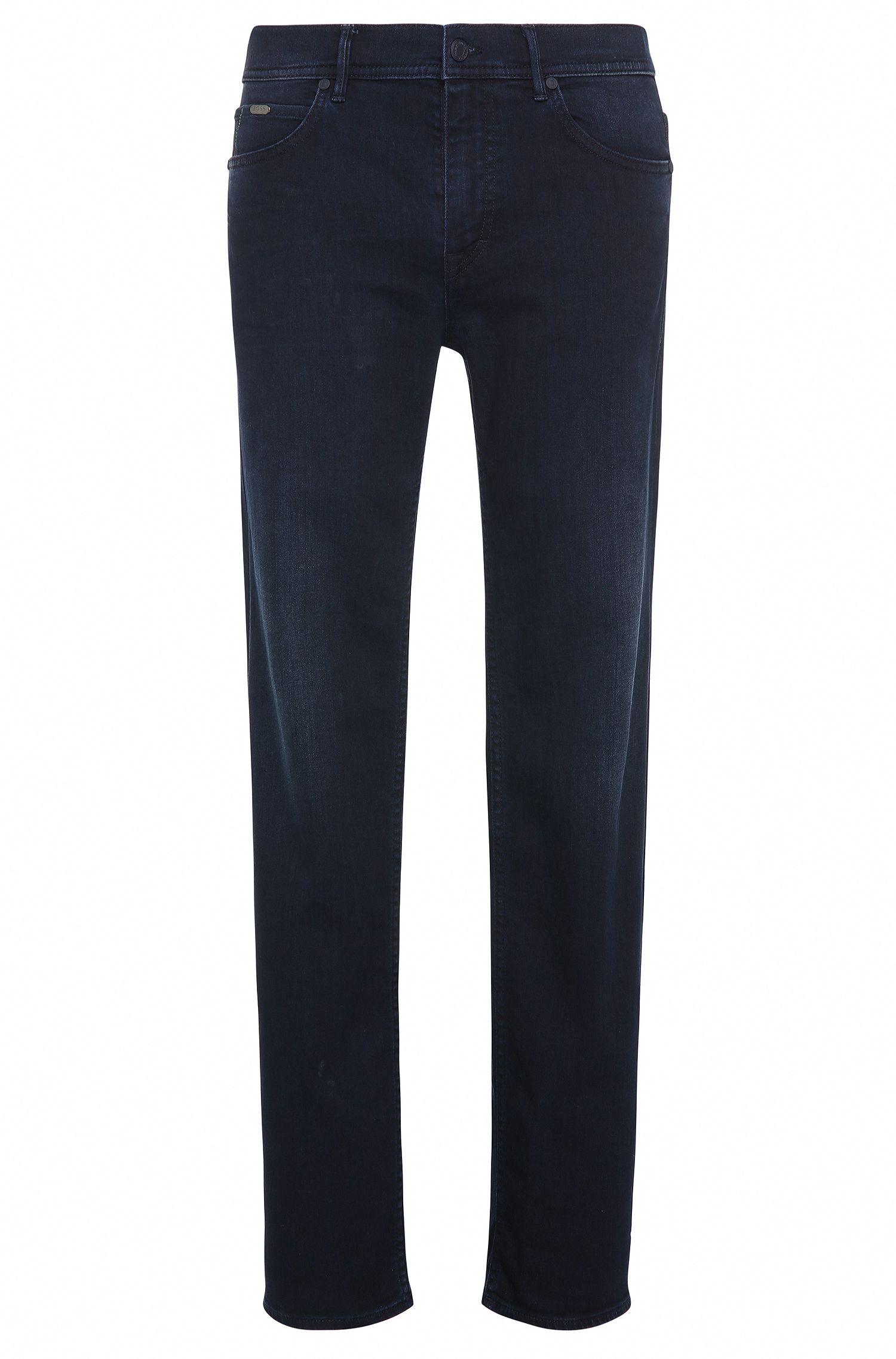 Jeans regular fit in cotone elasticizzato con leggero trattamento di scoloritura: 'Deam30'