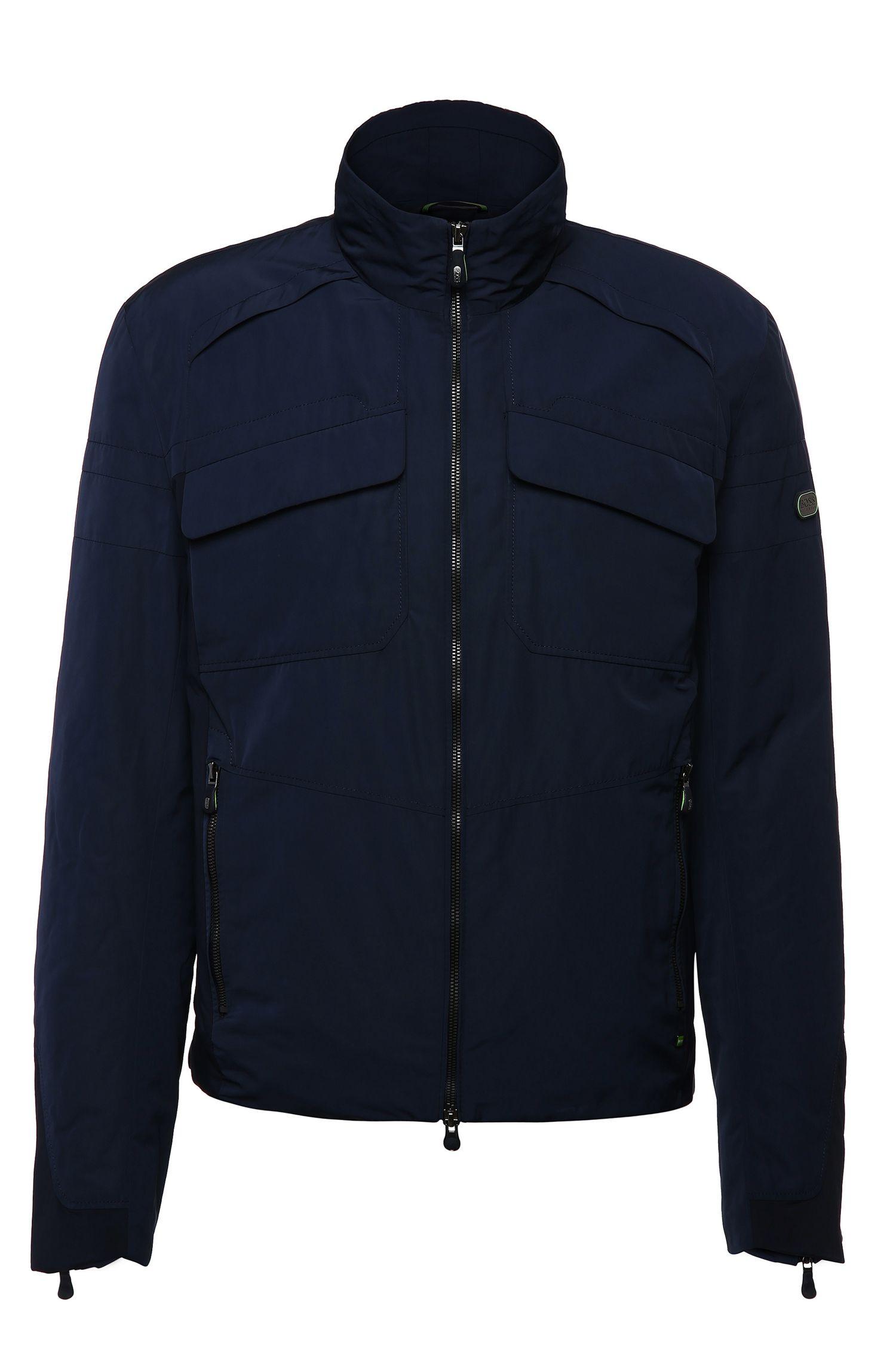 Blouson-Jacke in glatter Qualität: ´Jido`