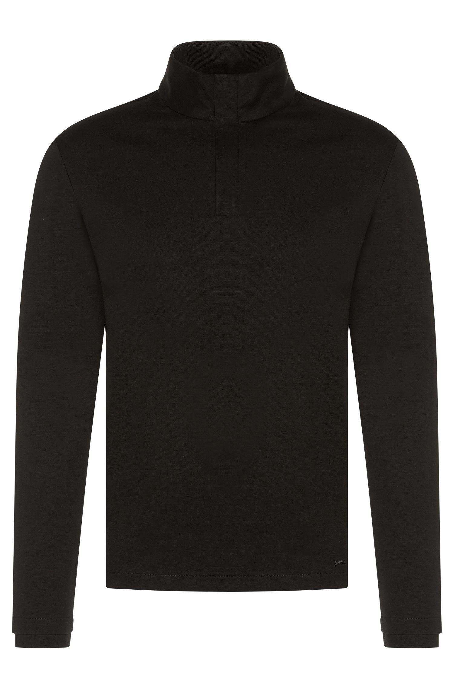 Regular-Fit Sweatshirt aus merzerisierter Baumwolle: 'Sydney 08'