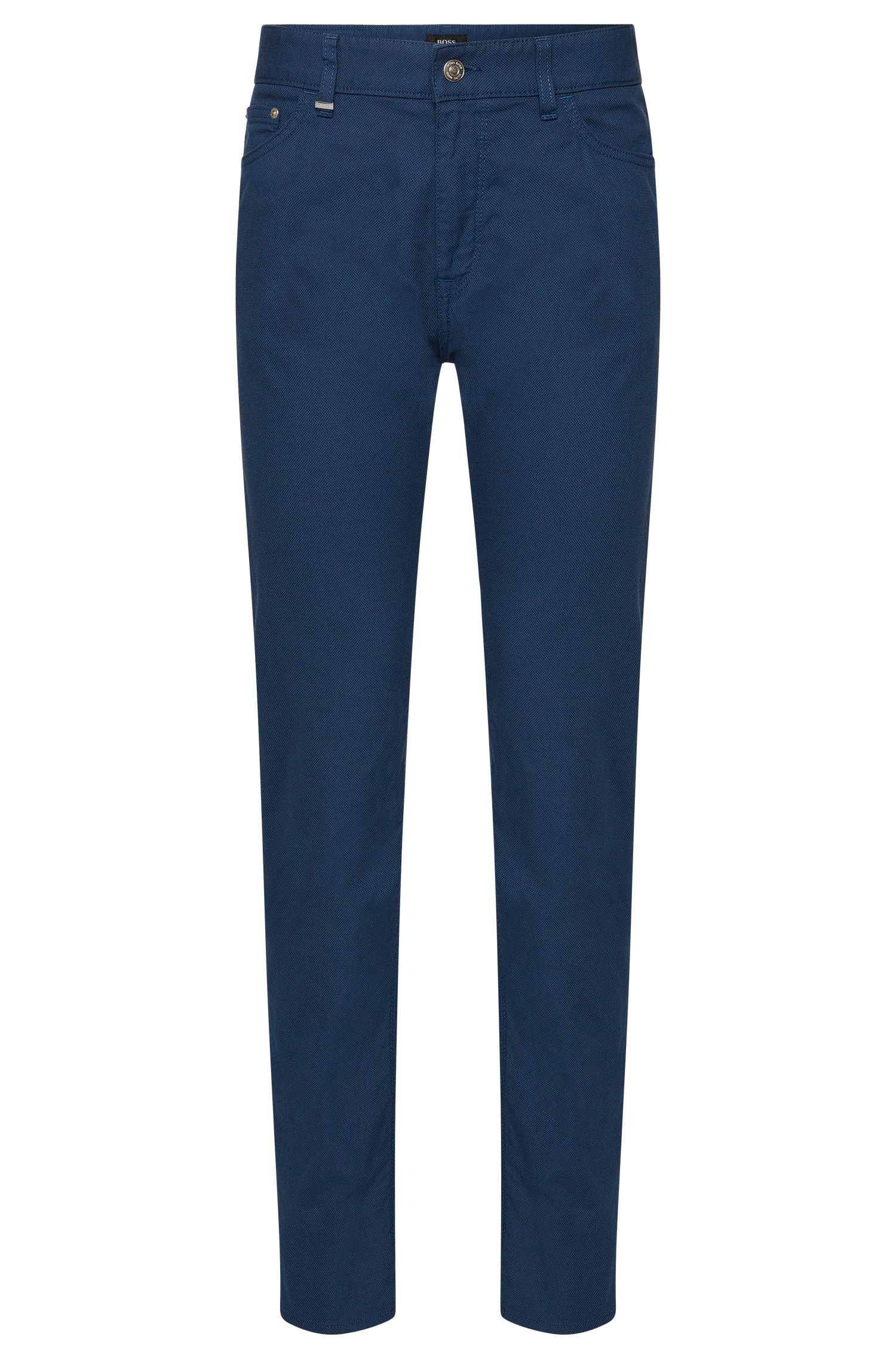 Pantaloni regular fit in cotone elasticizzato: 'Maine3-20'