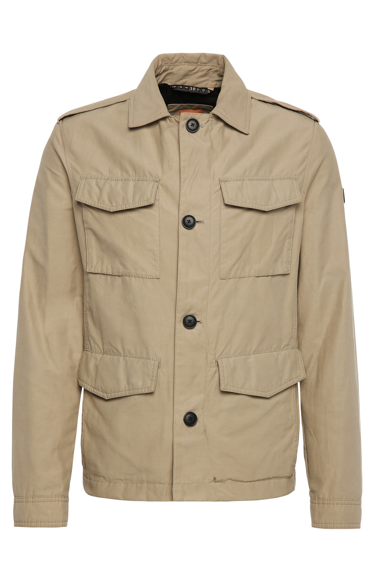 Cotton-blend field jacket: 'Oricky-W'