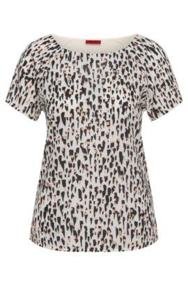 T-shirt en viscose avec devant imprimé: «Dafona», Fantaisie