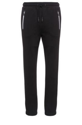 Pantalon de jogging en coton mélangé: «Heacho», Noir