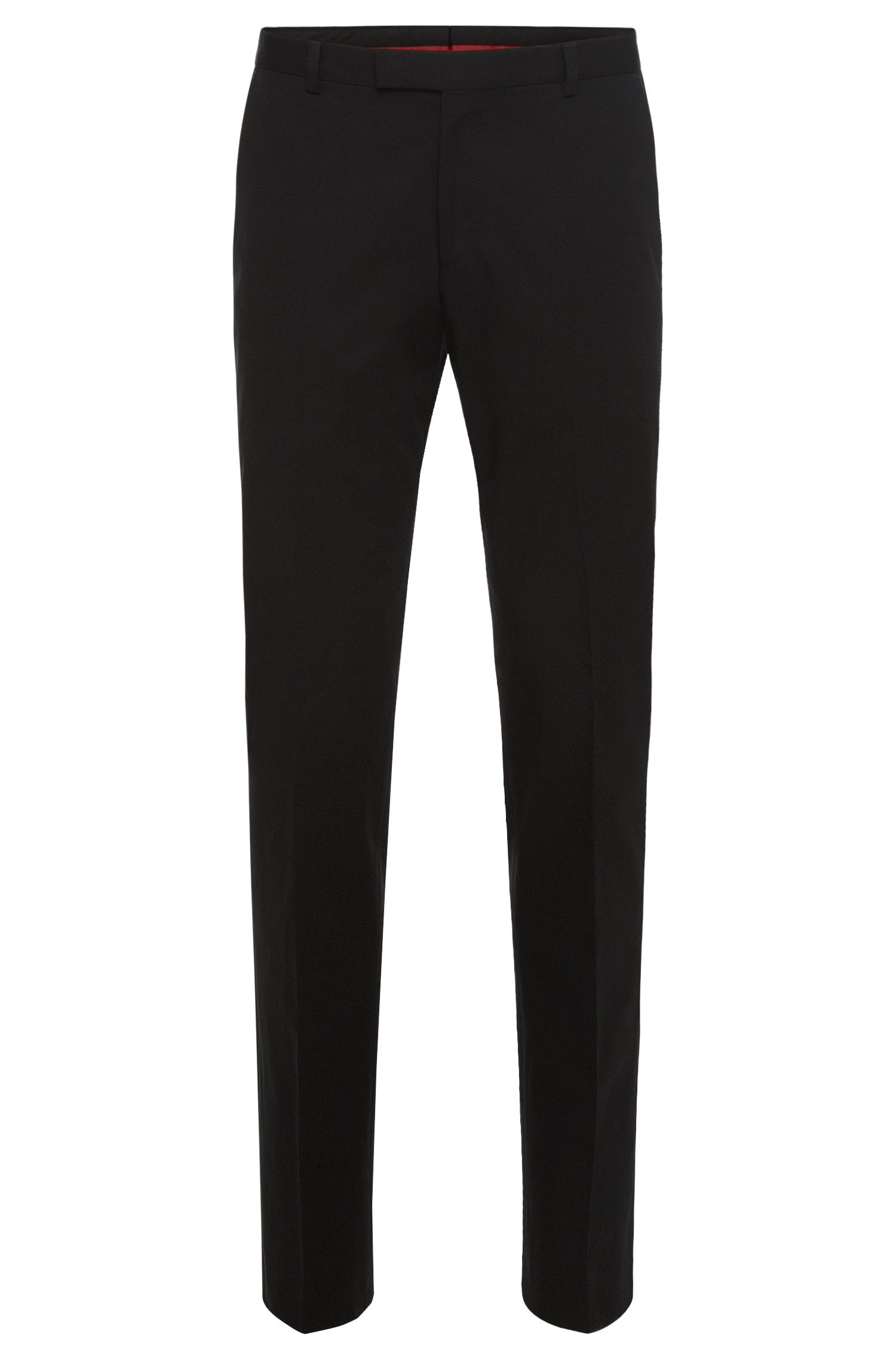 Regular-fit trousers in stretch cotton: 'C-Shark1'