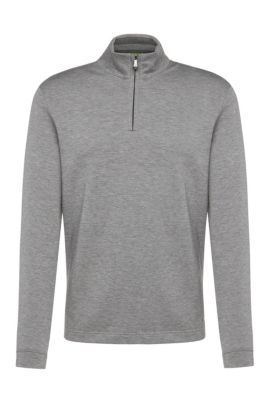 Sweat Regular Fit en coton mélangé : « C-Piceno », Gris