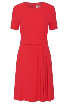Dress with colour-coordinated belt: 'Dalinkana', Dark pink