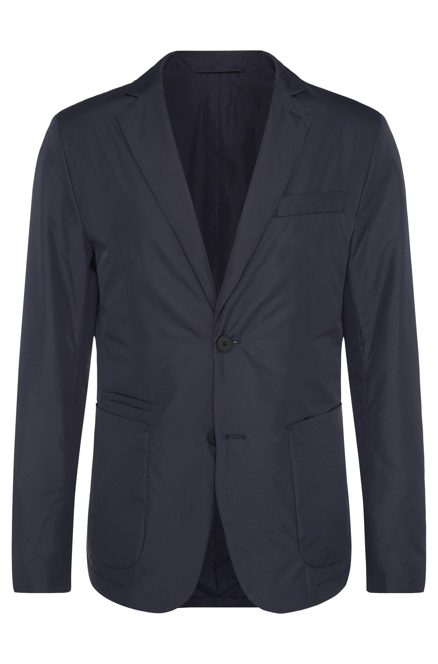 Veste de costume imperméable Regular Fit légèrement rembourrée: «Nahel»