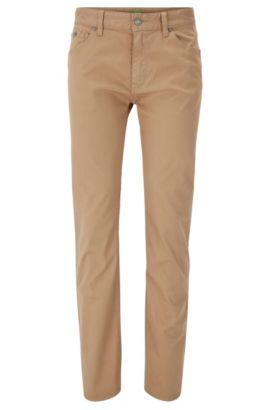 Regular-Fit Jeans aus komfortablem Stretch-Denim, Beige