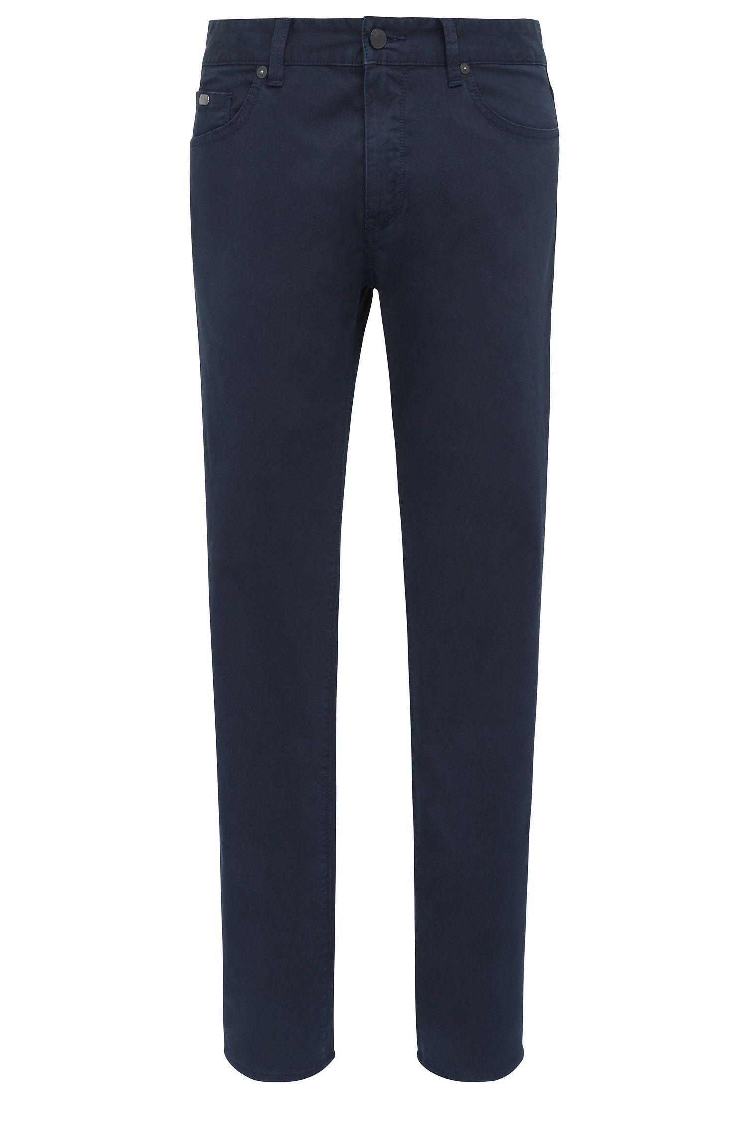 Regular-fit jeans van comfortabele stretchdenim