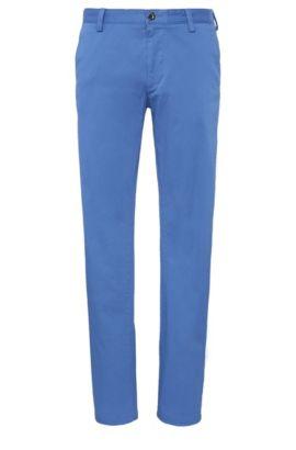 Slim-Fit Hose aus elastischer Baumwolle: ´C-Rice1-4-W`, Hellblau