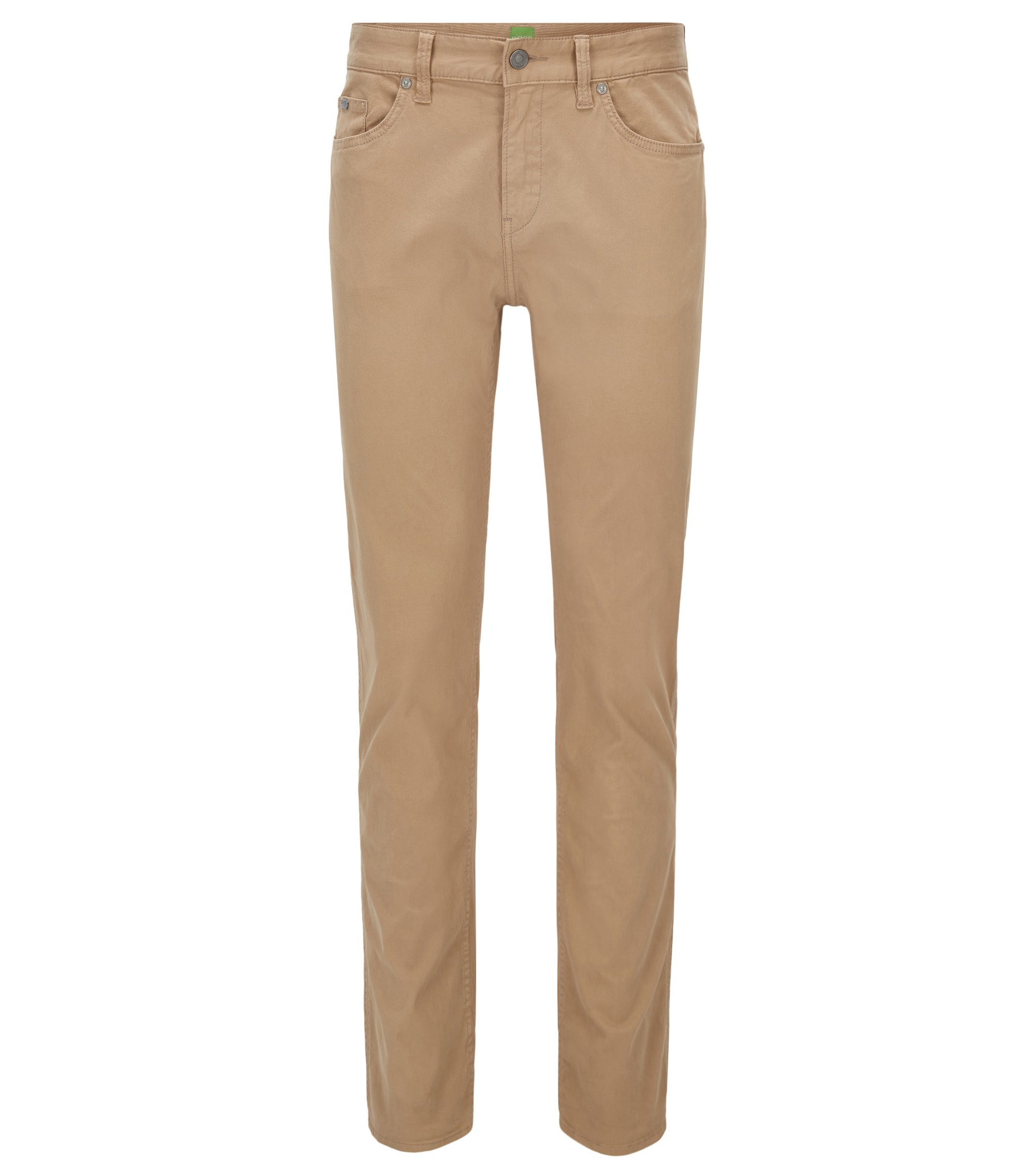 Slim-Fit Jeans aus Stretch-Denim, Beige