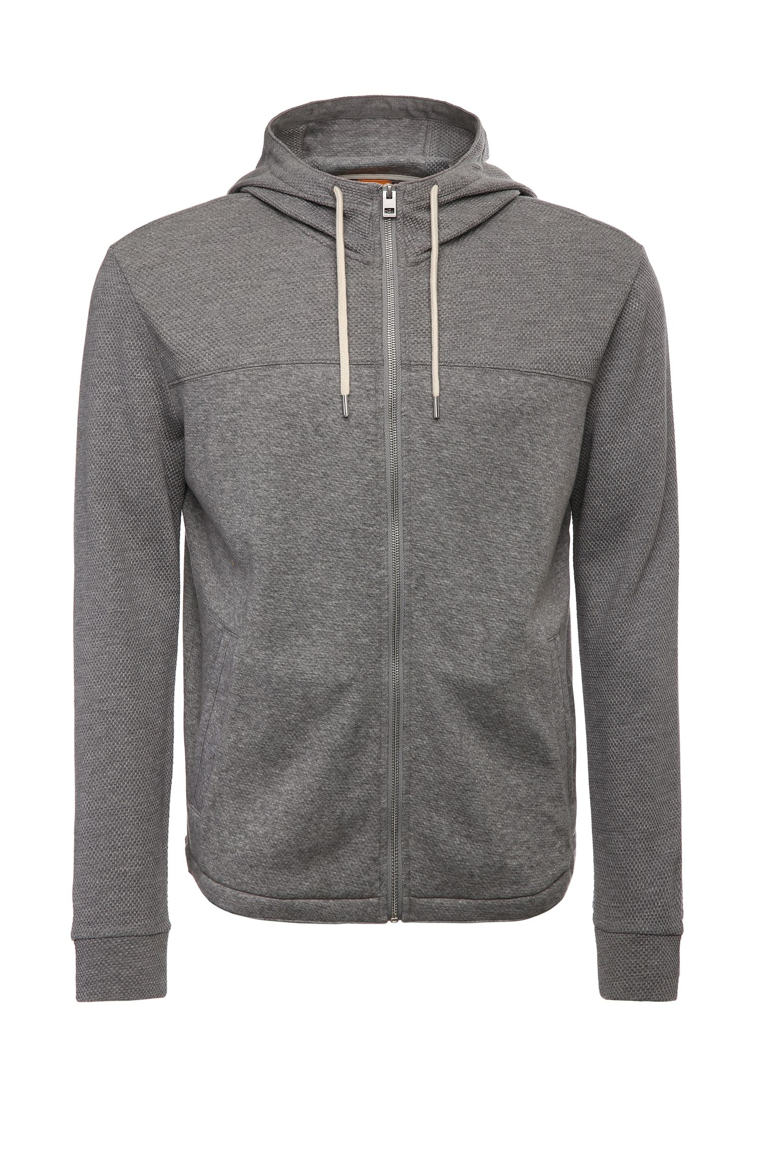 Blouson sweat Regular Fit en coton mélangé : « Zports »