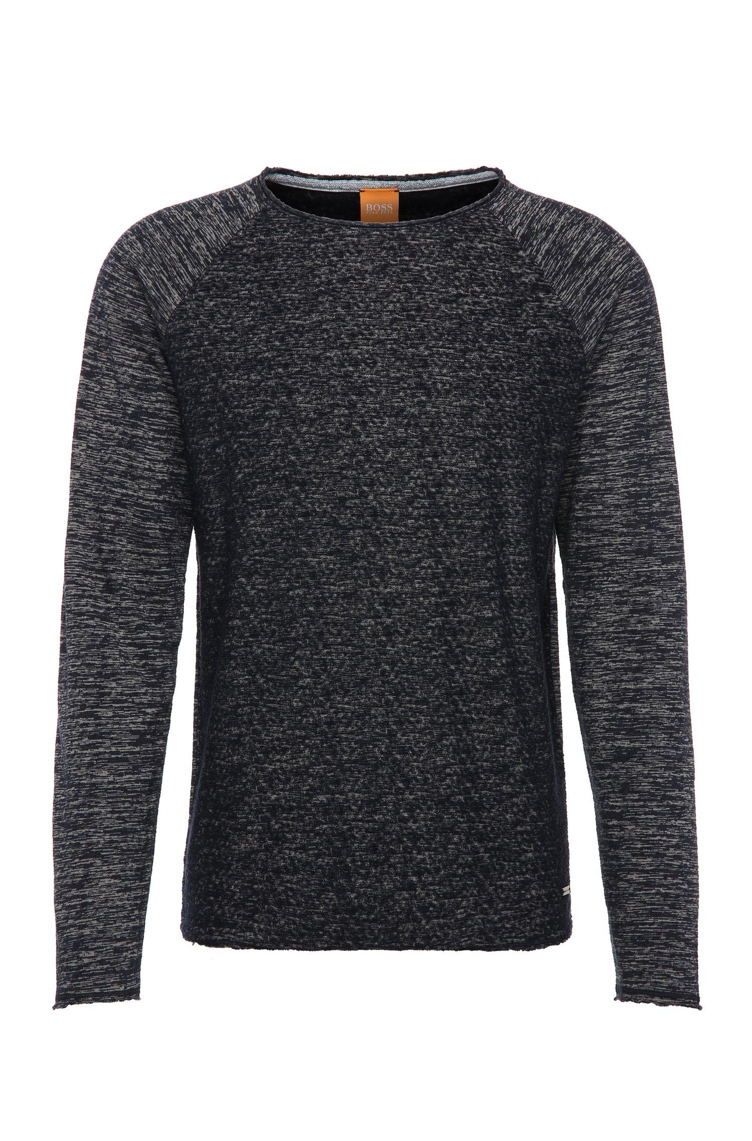 Relaxed-Fit Sweatshirt aus Baumwoll-Mix: ´Welles`