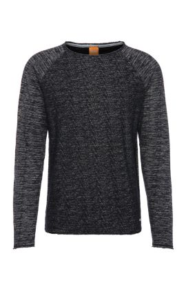 Relaxed-Fit Sweatshirt aus Baumwoll-Mix: ´Welles`, Dunkelblau