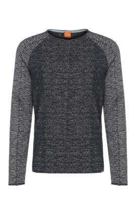 Relaxed-Fit Sweatshirt aus Baumwoll-Mix: ´Welles`, Dunkelblau