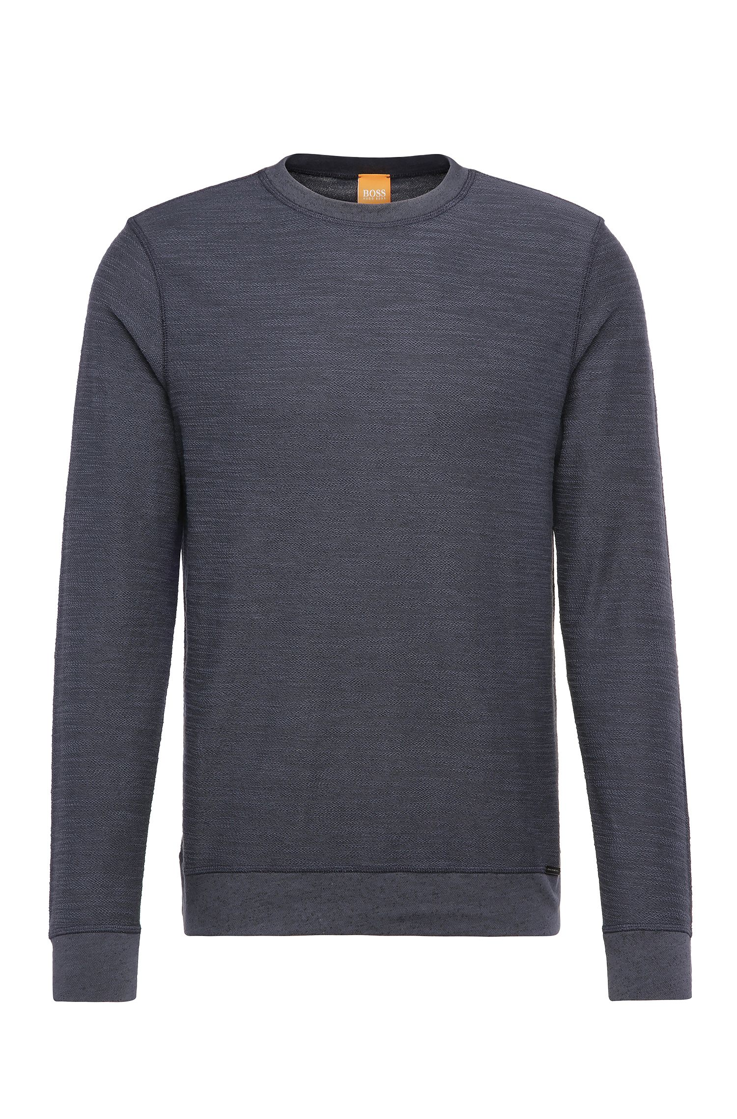 Felpa relaxed fit in misto cotone: 'Woice'