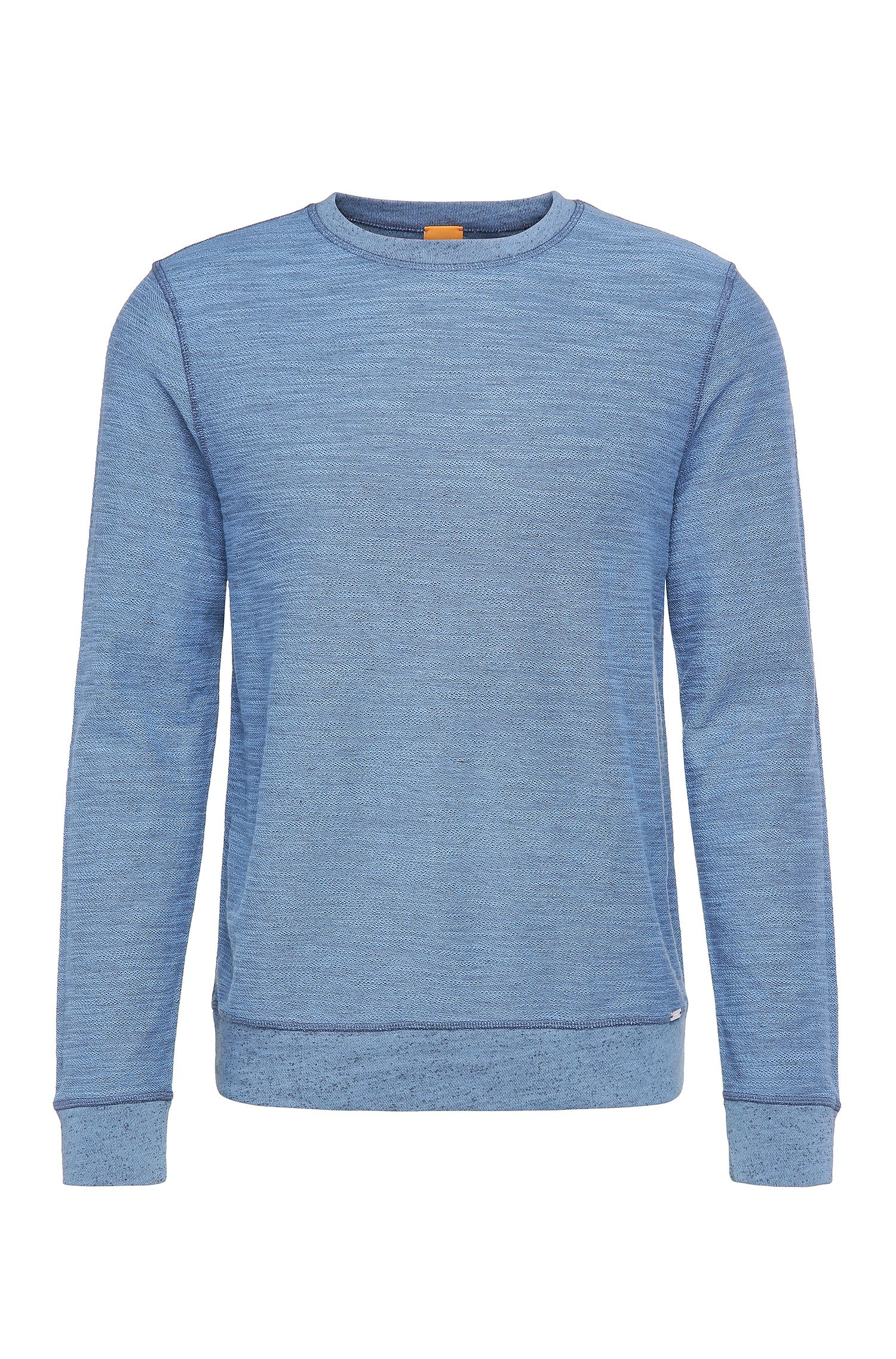 Sweat Relaxed Fit en coton mélangé : « Woice »