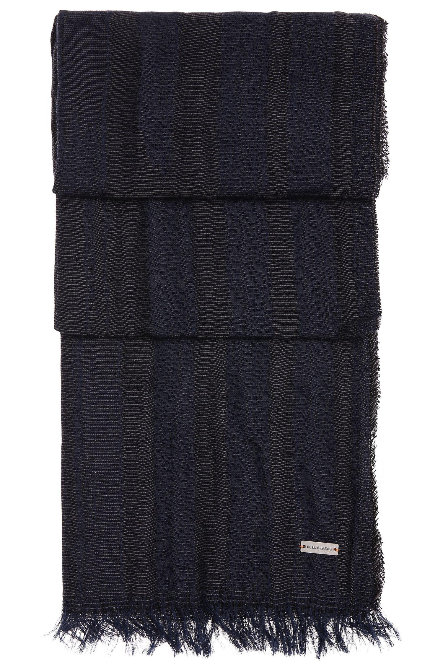 Locker gewebter Schal aus Baumwolle: ´Noor`