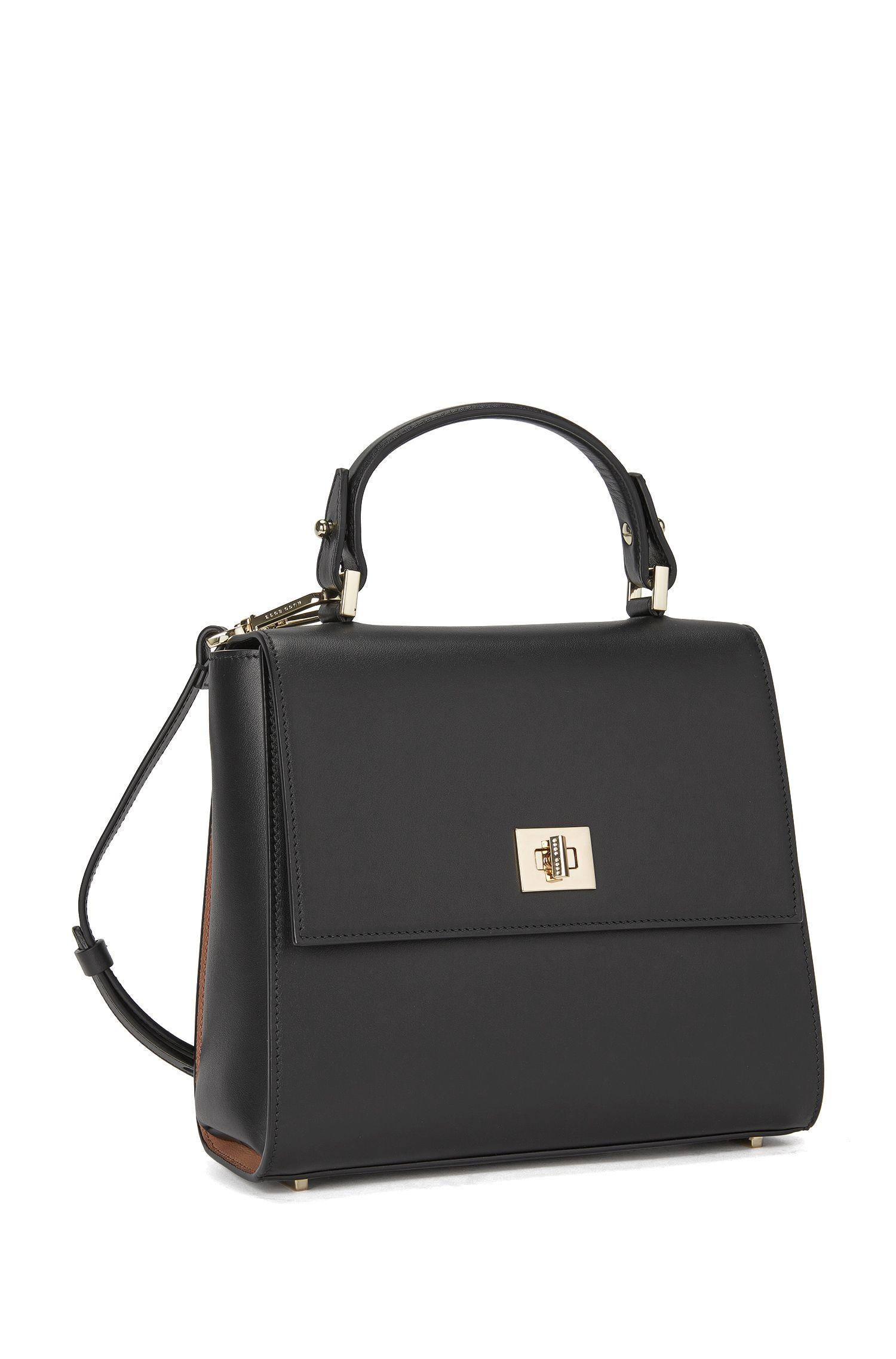 Bespoke handbag in smooth leather BOSS